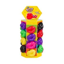 CANDY&TOY KISS POP TOWER DISPLAY 4X24