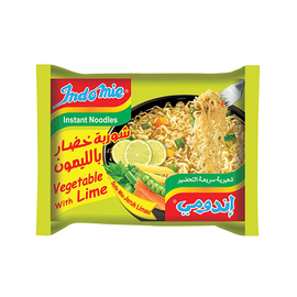 INDOMIE VEGETABLE WITH LIME NOODLES  (8X5X70GM)