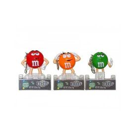 M&M CANDY DOME KEY CHAIN 13G (6 OUTERS OF 12 UNITS)