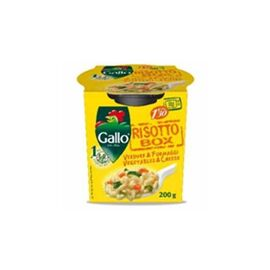 RISO GALLO RISOTTO VEGETABLE & CHEESE IN CUP