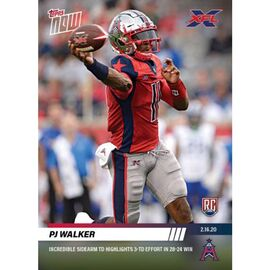 6-Card Bundle - XFL TOPPS NOW® Cards 8-13