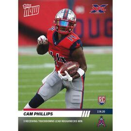 Cam Phillips - XFL TOPPS NOW® Card 13