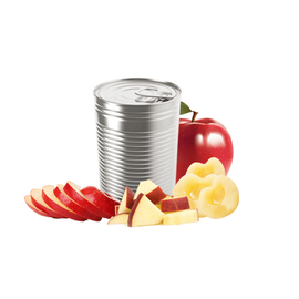 CANNED APPLE SLICES / HALVES / DICES