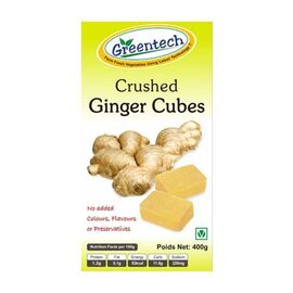 Crushed Ginger Cubes