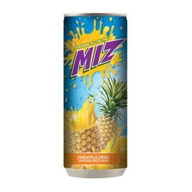 Pineapple Drink with Pineapple Crush