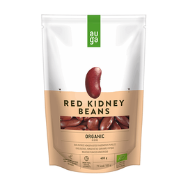 Auga Organic Red beans in spicy sauce 4779039730411