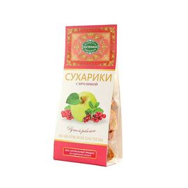 СRACKERS OF CLASSIC BELYOV PASTILA WITH RED BILBERRIES