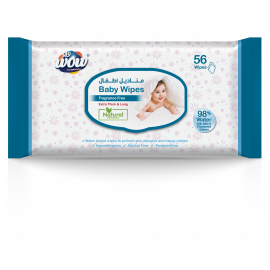 Baby 56 Fragrance Free Wipes 10000000097
