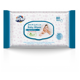 Baby 80 Fragrance Free Wipes 10000000095