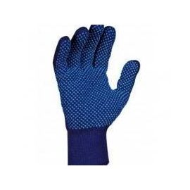 Knitted Dotted Gloves - Blue 10000000106