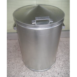 GALVANIZED TRASH CAN 100 Ltrs