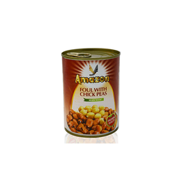FOUL WITH CHICK PEAS