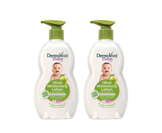 Dermoviva baby olive lotion 200ml-(Pack of 2) 30101990