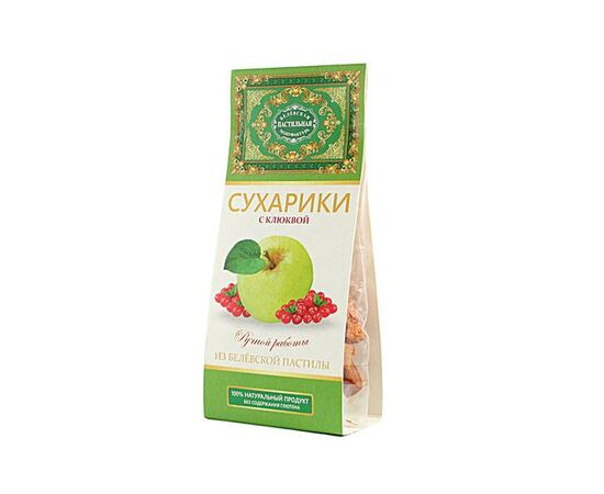 СRACKERS MADE OF CLASSIC BELYOV PASTILA WITH CRANBERRIES