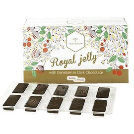 ROYAL JELLY WITH GENISTEIN IN DARK CHOCOLATE